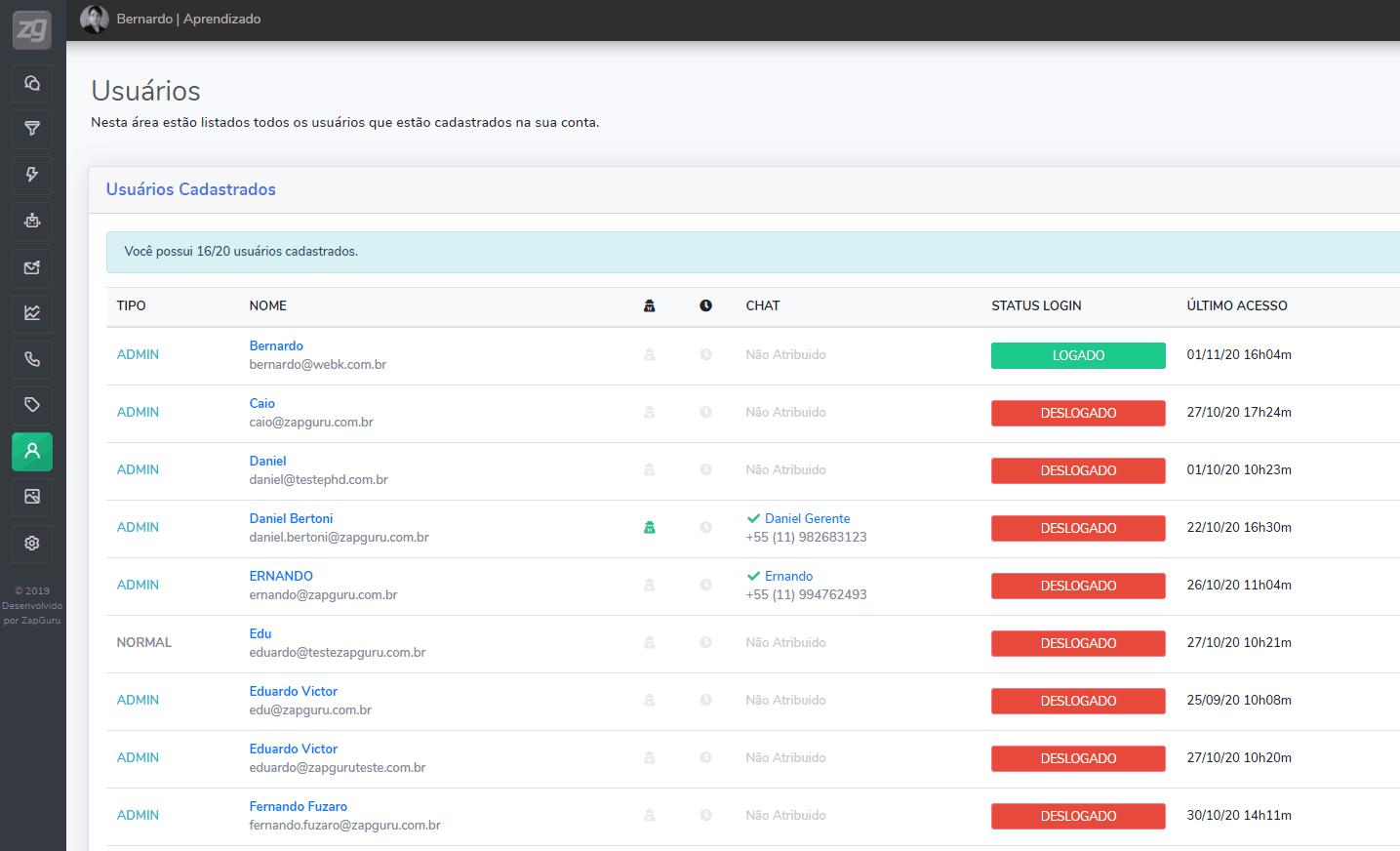 Automação Para WhatsApp Com Múltiplos Usuários no ZapGuru