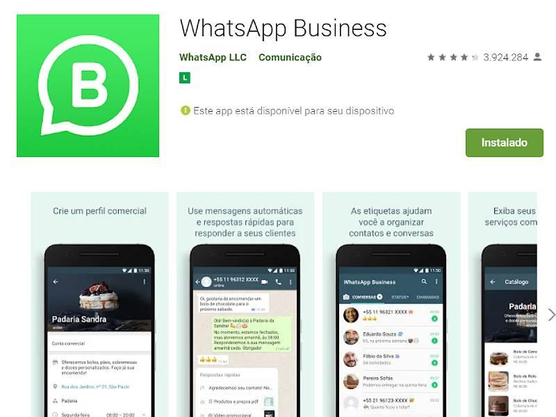 Como fazer WhatsApp comercial